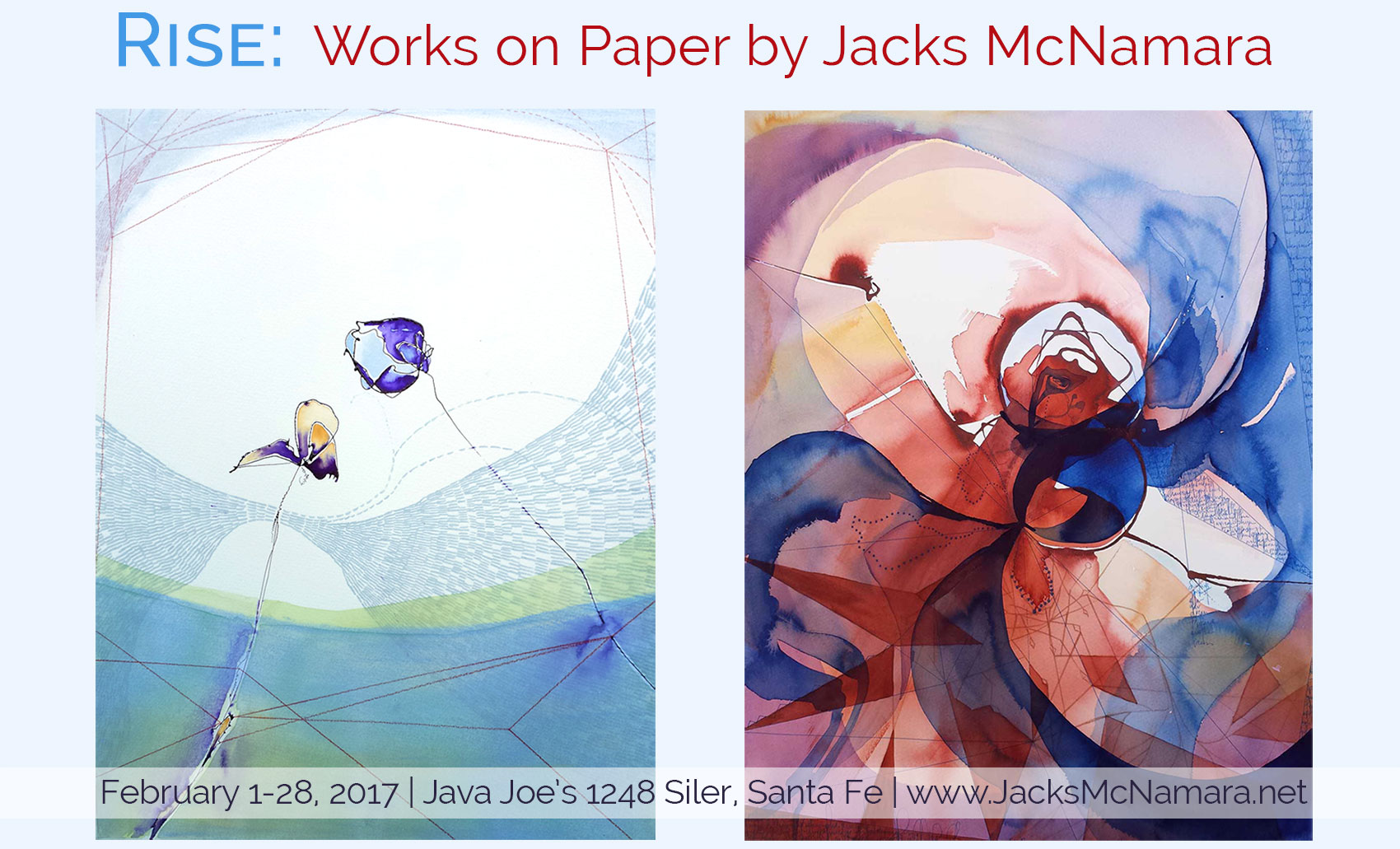 Rise Works on Paper by Jacks McNamara
