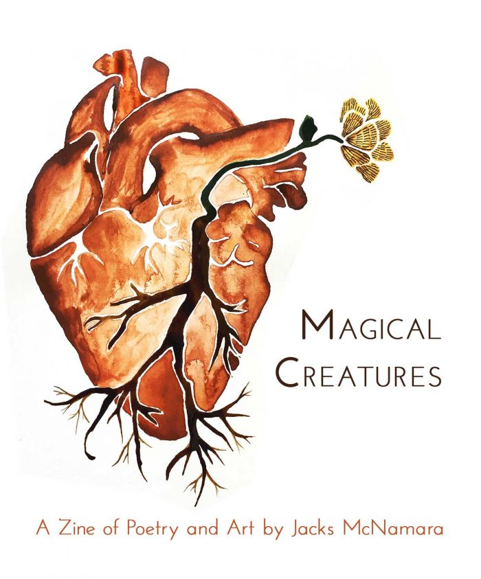 Rooted Heart Zine Cover by Jacks McNamara
